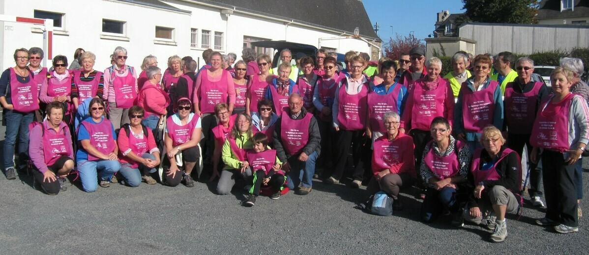 OCTOBRE ROSE - MARCHE pour la lutte contre le CANCER